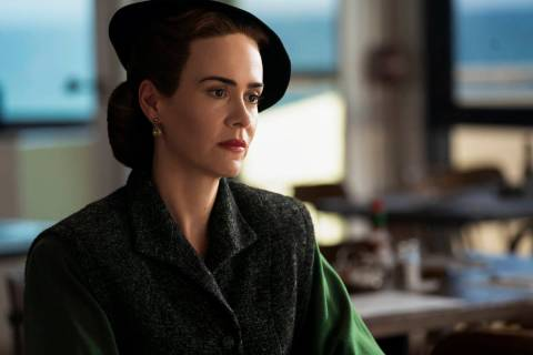 """Sarah Paulson plays iconic character Mildred Ratched in """"Ratched."""" (Saeed Adyani/Netflix)"""