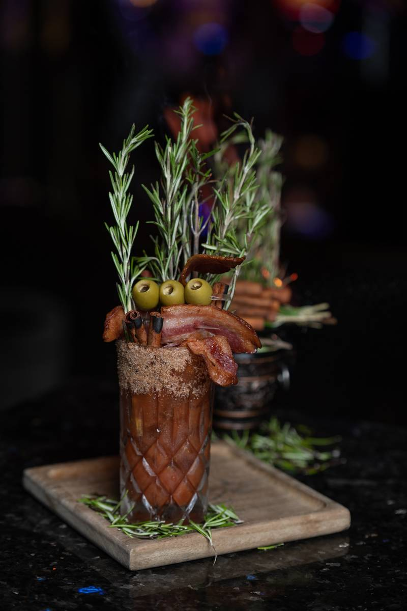Bloody In Bloody Out bloody mary at Clique Bar & Lounge. (Clique Hospitality)