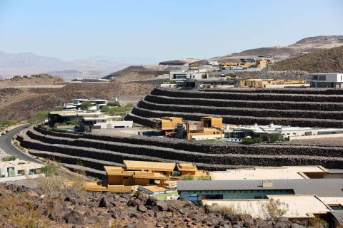 The exclusive mountainside custom home community Ascaya has a total of 313 lots nestled in the ...