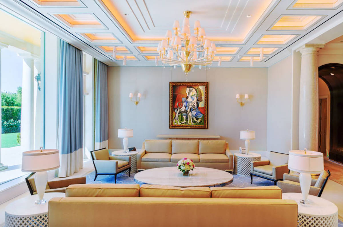 Forté Specialty Contractors renovated Steve Wynn's 18,700-square-foot European-style home in ...