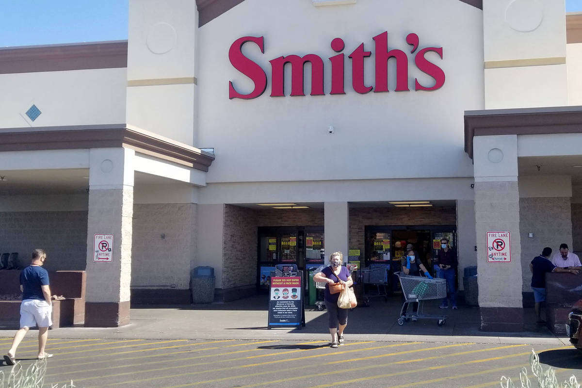 Smith's (Carrie Roper/Las Vegas Review-Journal)