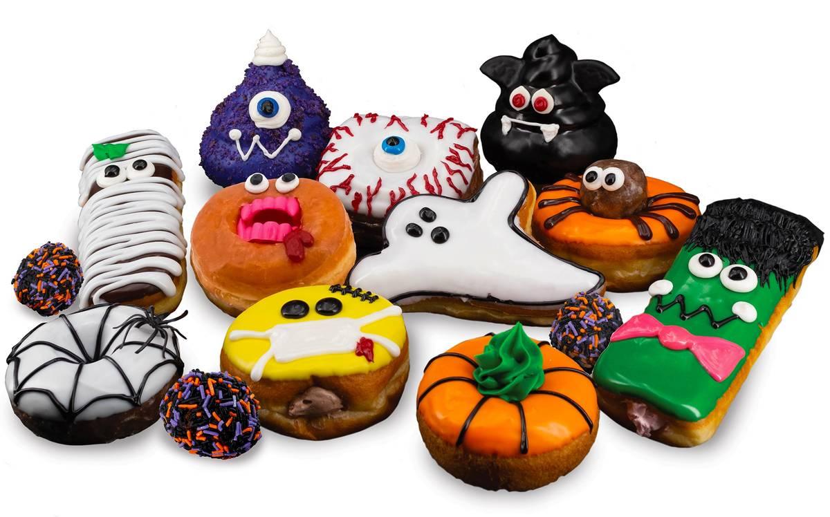 Halloween Doughnuts at Pinkbox. (Pinkbox Doughnuts)