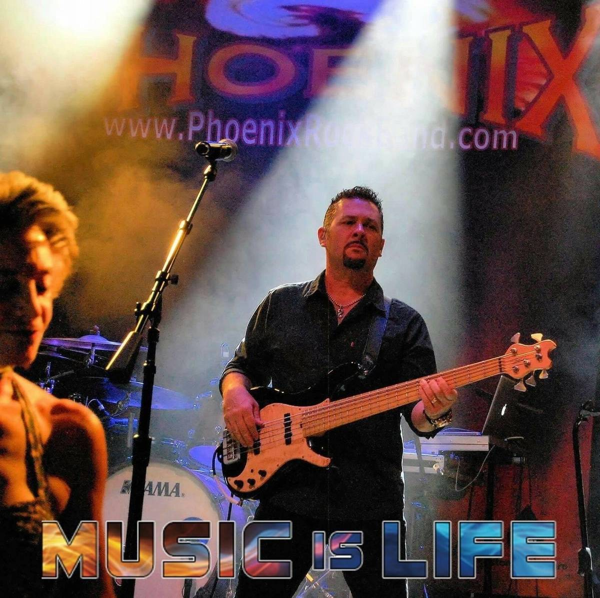 Ray Allaire, shown here with the rock-cover band Phoenix, has left Las Vegas for a village in B ...