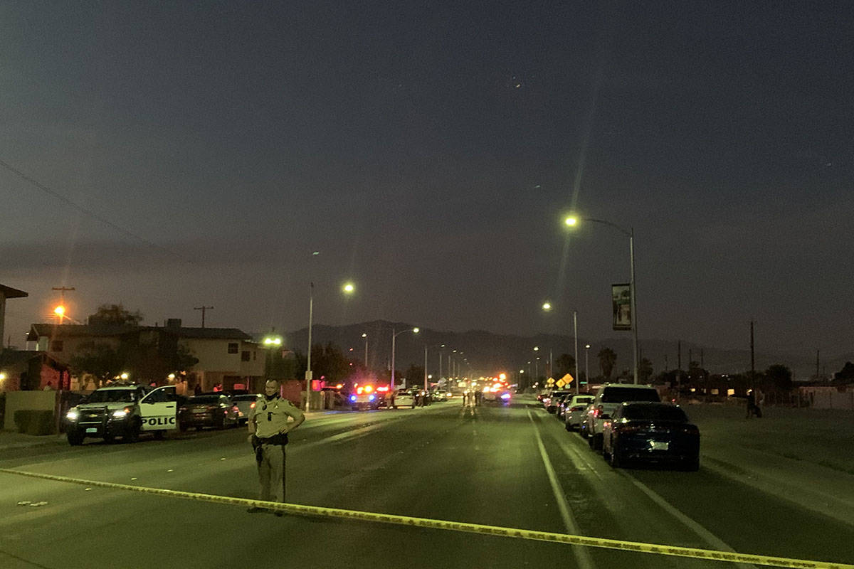 Police investigate the discovery of a dead body Monday, Oct. 5, 2020, on the 1700 block of H St ...