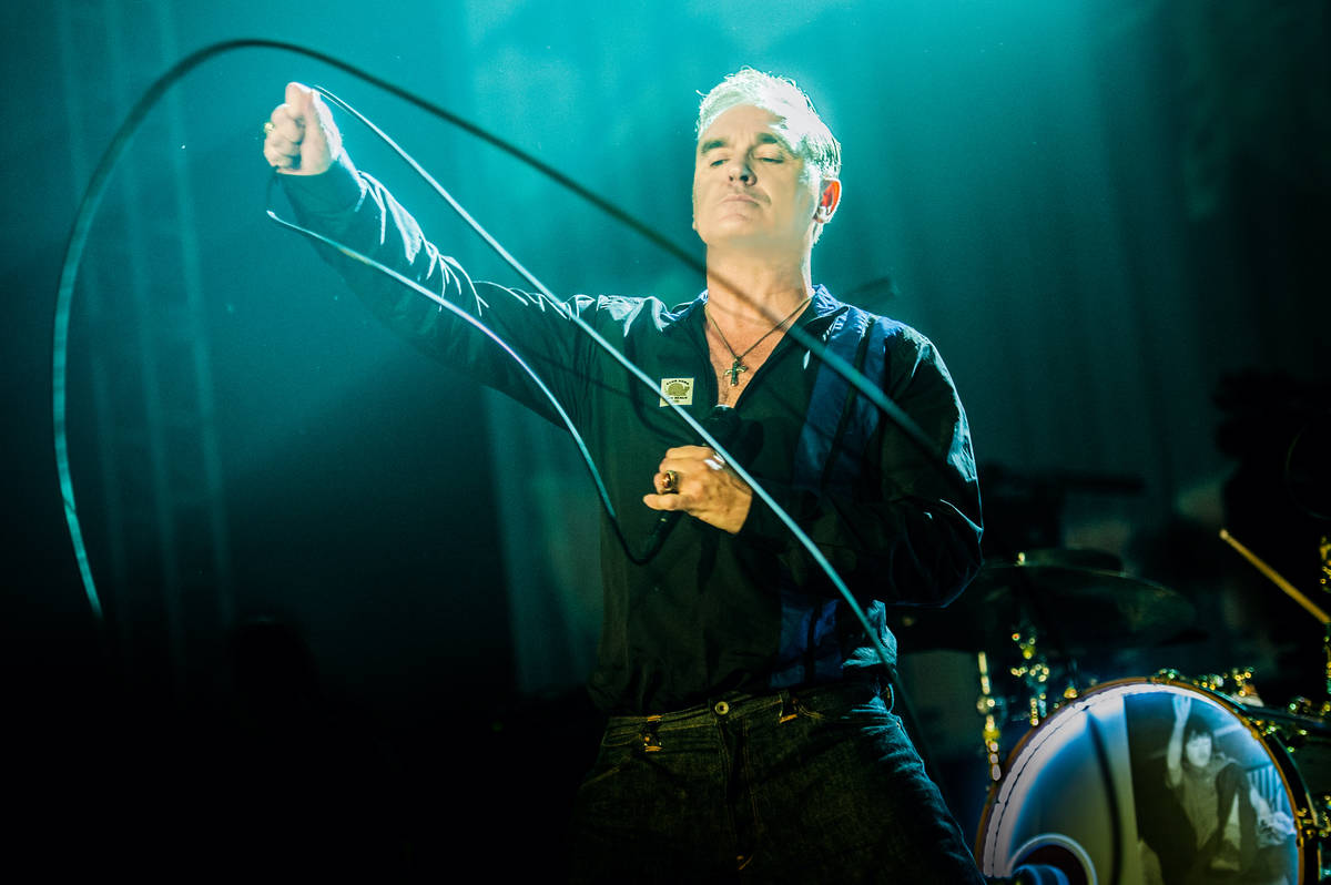 """Morrissey has returned his """"Viva Moz Vegas"""" series to the Colosseum at Caesars Palace in August ..."""