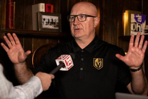 Golden Knights assistant director of player personnel Bob Lowes discusses Vegas' second through ...