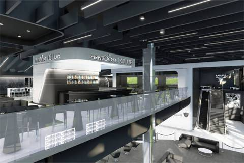 A rendering of the Aristocrat Club at Allegiant Stadium (Courtesy)