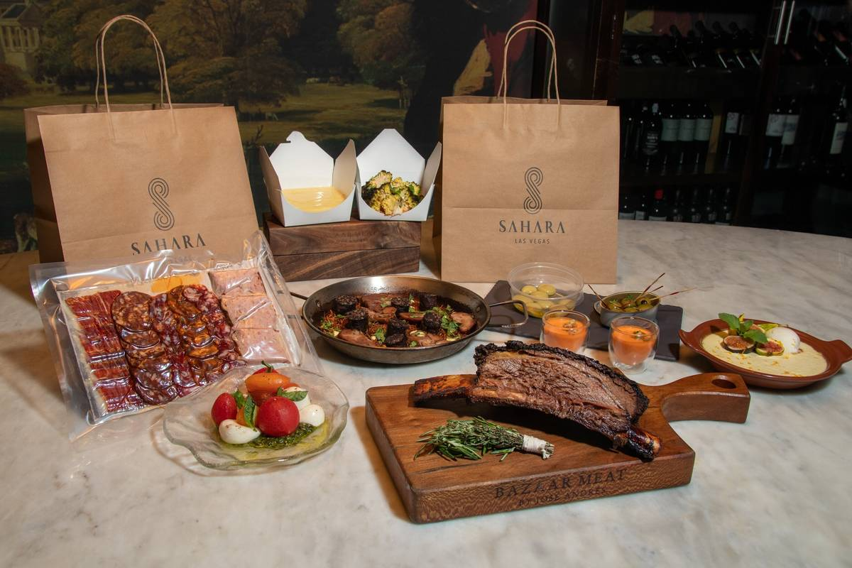 Wagyu shortrib takeaway package from Bazaar Meat. (Bazaar Meat)