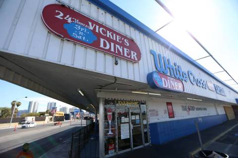 Vickie's Diner in Las Vegas, Saturday, Aug. 15, 2020. Vickie's Diner, 1700 Las Vegas Blvd. Sout ...