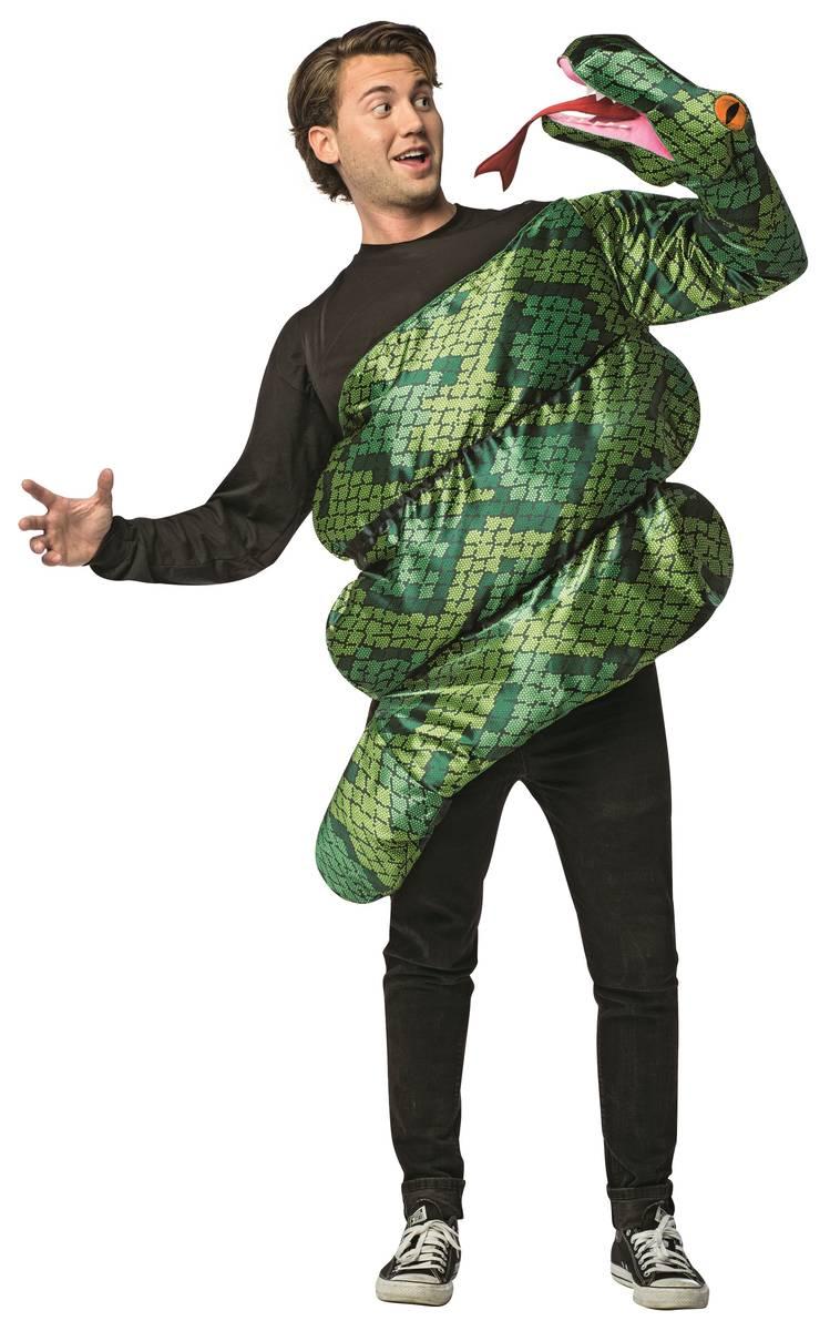 Adult Anaconda Snake Squeeze Costume evokes Kenny Stabler. (findcostume.com)