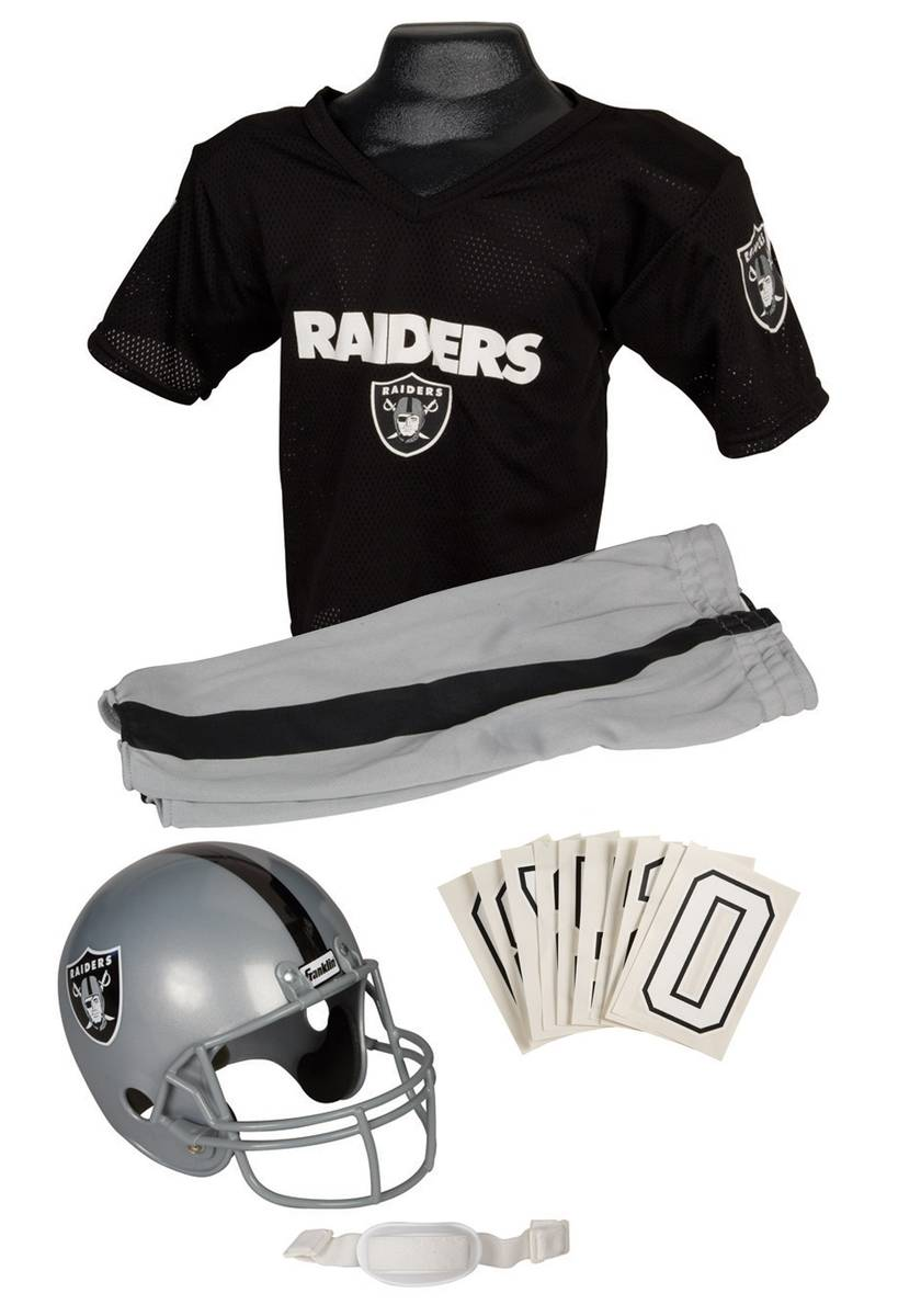 For the kid who dreams of being a Raider. (halloweencostumes.com)