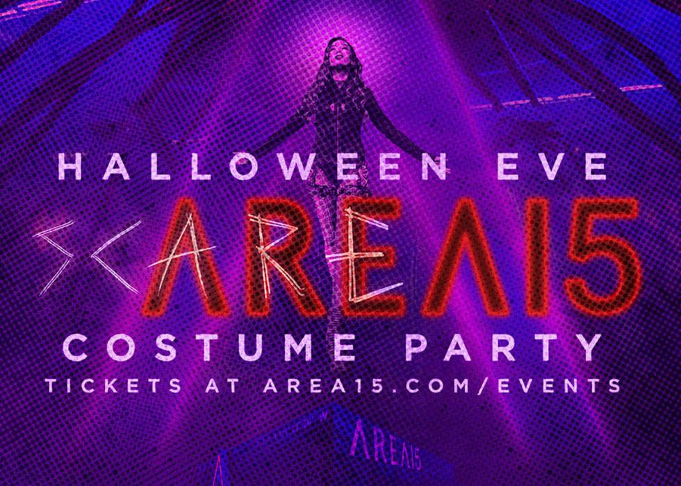 Area15 will have weekend of Halloween events. (Area15)