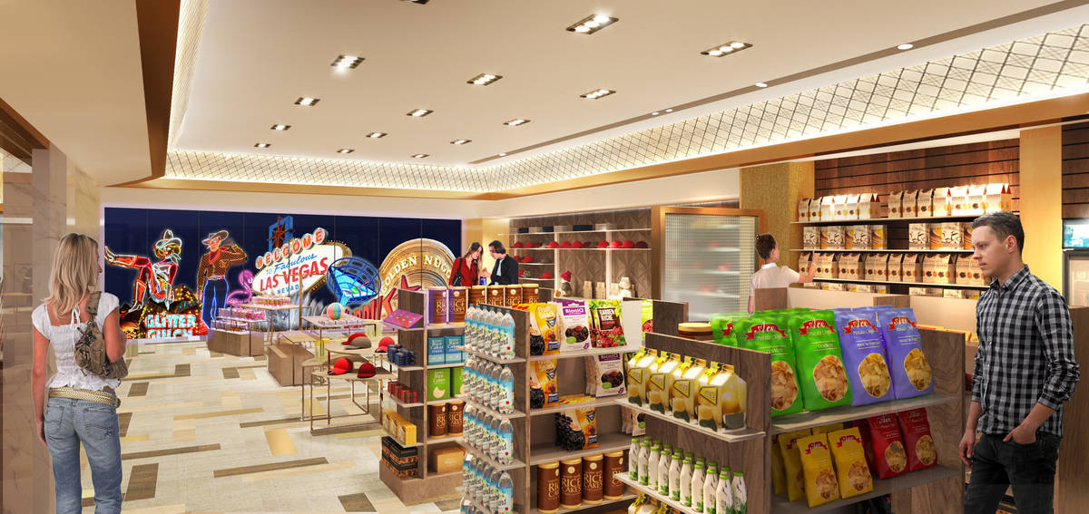 A rendering of Circa Collections, one of the retail components inside Circa. (Circa)