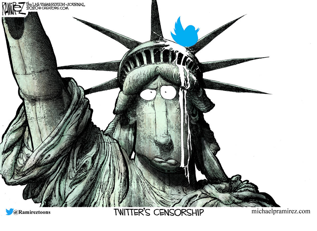 Cartoon Protecting Hunter Biden Las Vegas Review Journal