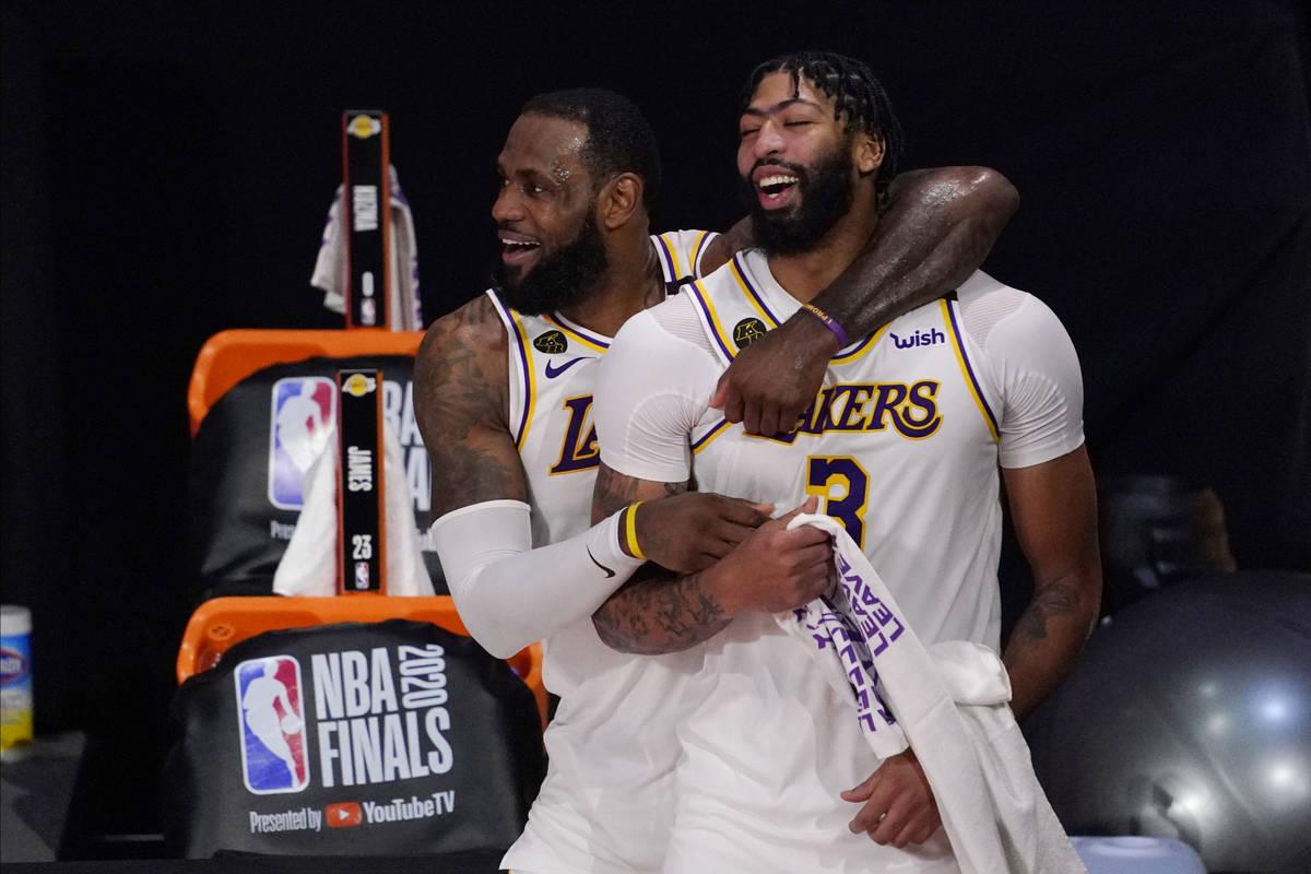 Lakers Roll To Vegas To Celebrate Nba Championship Las Vegas Review Journal