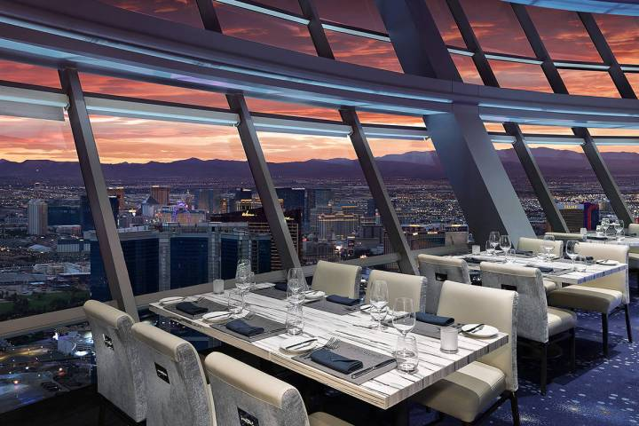 Top of the World at The Strat. (Anthony Mair)