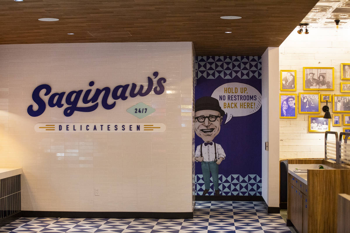 Saginaw's Delicatessen is seen during a tour of Circa, the first from-the-ground-up casino buil ...