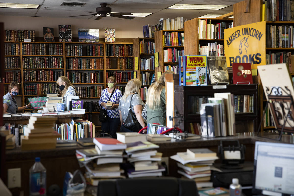 Amber Unicorn Books Kicks Off Sale Before Closure Las Vegas Review Journal Save money on things you want with a unlv bookstore promo code or coupon. amber unicorn books kicks off sale