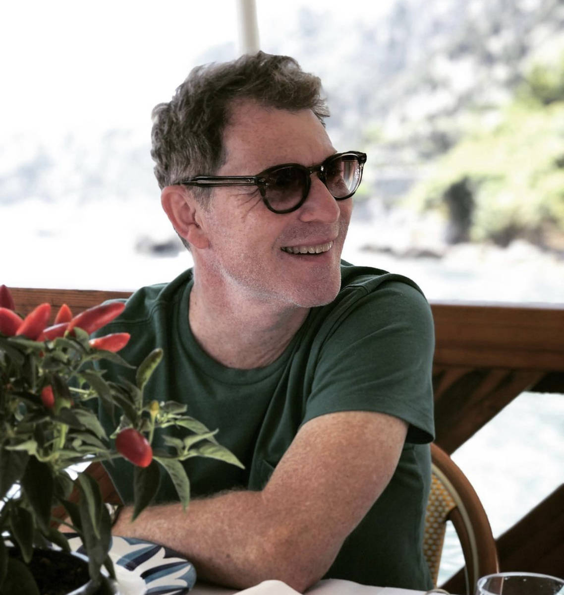 Bobby Flay on Italy's Amalfi Coast, which inspired his next Caesars Palace restaurant. (@bobbyf ...