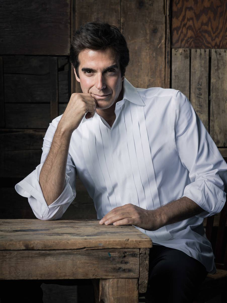 David Copperfield is being honored by the National Museum of American Jewish History in its Onl ...