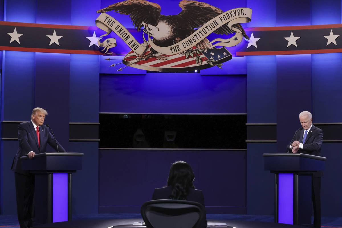 Joe Biden Wins Debate Against Donald Trump According To Cnn Poll Las Vegas Review Journal