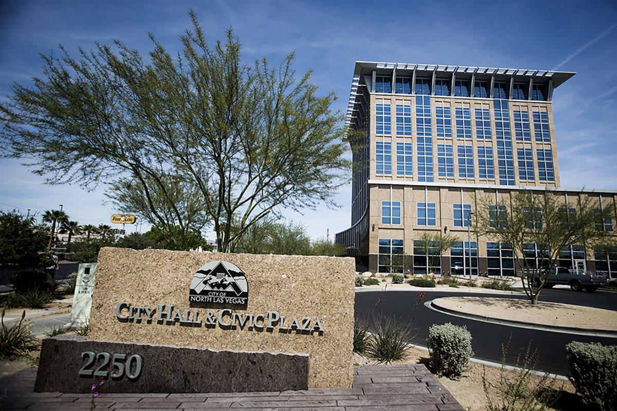 The North Las Vegas City Hall (Las Vegas Review-Journal)