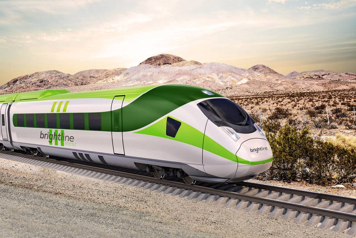 Brightline reveals more details about Vegas-to-LA high-speed rail line