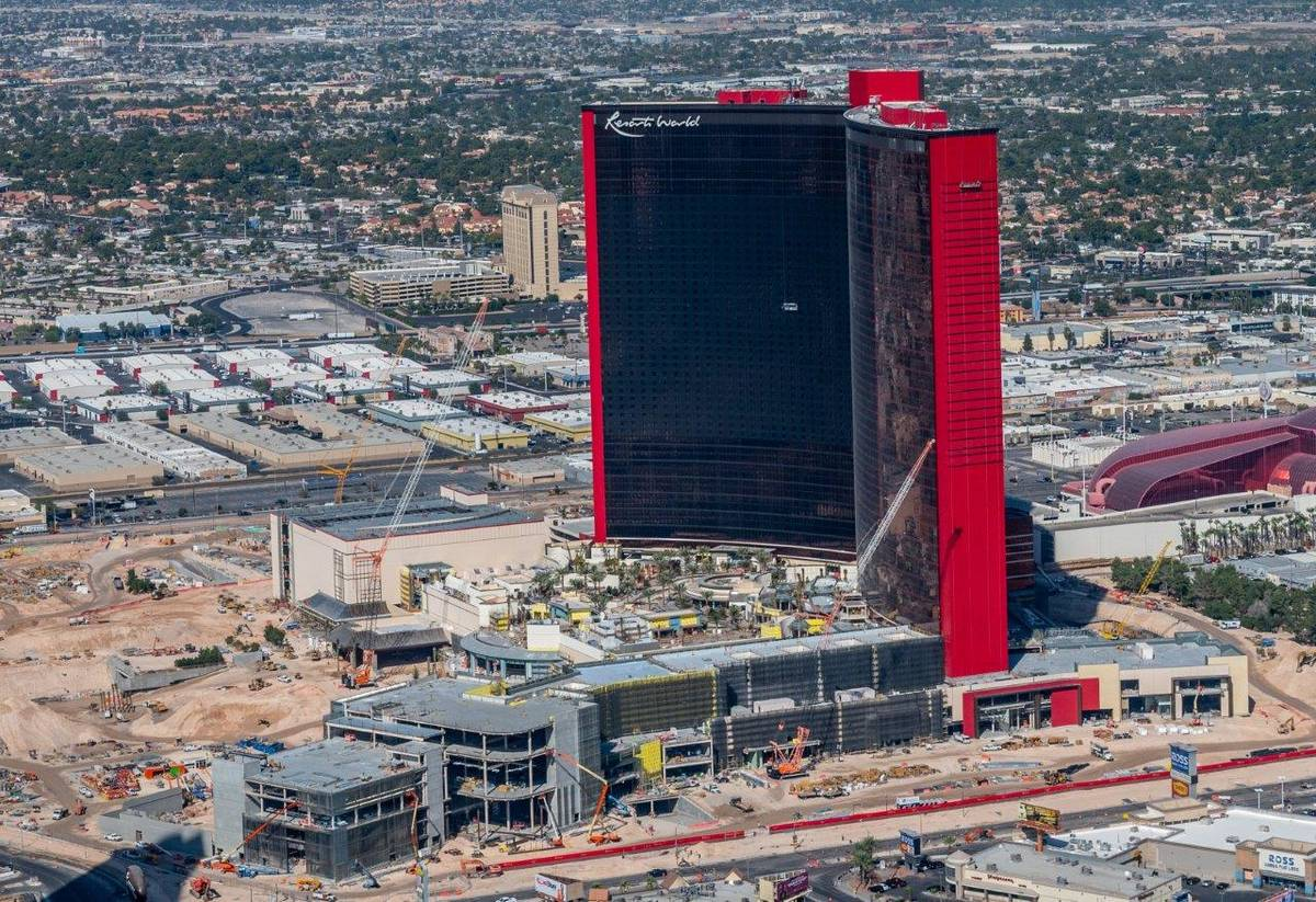 Resorts World Las Vegas is shown on Friday, Oct. 23, 2020. (Tom Donoghue)