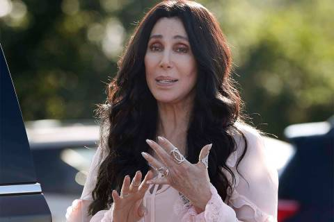 Singer and actress Cher, seen in 2016. (The Associated Press)