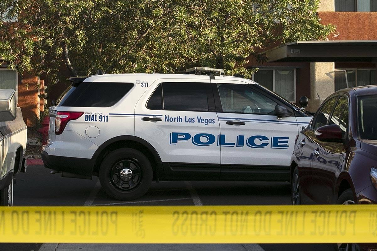North Las Vegas Police Department. (Bizuayehu Tesfaye/Las Vegas Review-Journal) @bizutesfaye