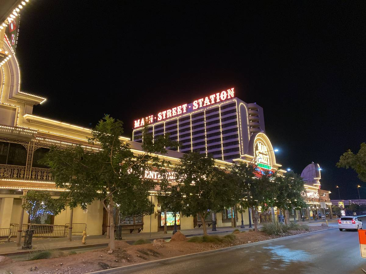 Main Street Station, which opened as Holiday International in 1978, is shown on Tuesday, Oct 20 ...