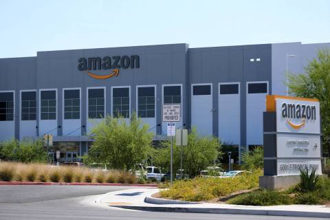 El Amazon Fulfillment Center, ubicado en 6001 E. Tropical Parkway, North Las Vegas, miércoles ...