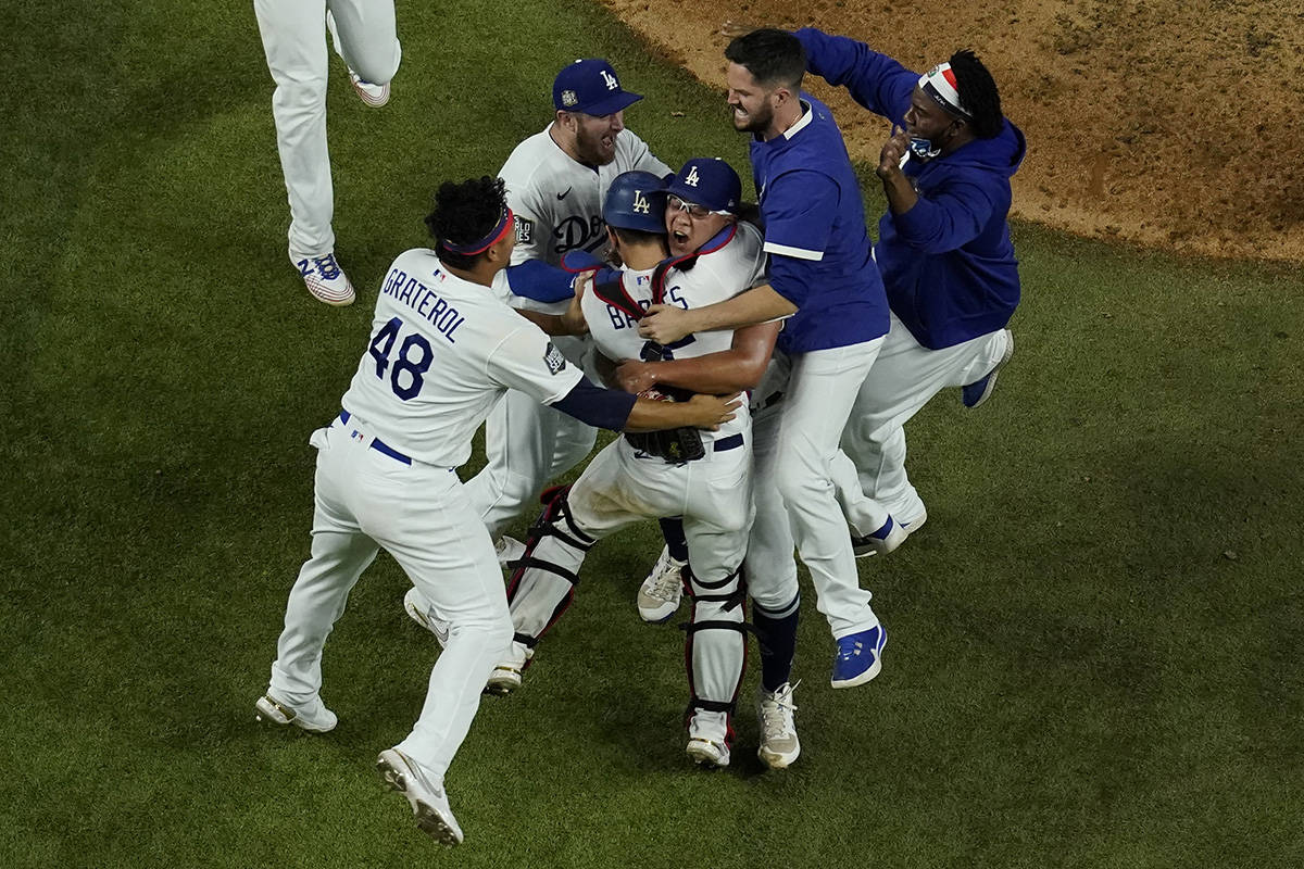Dodgers win the 2020 World Series over the Rays