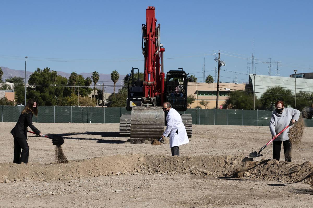 UNLV School of Medicine breaks ground on new campus. (UNLV/YouTube)