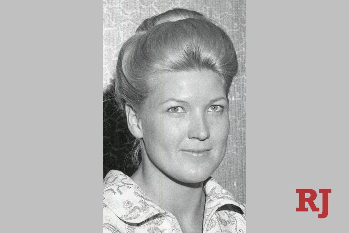 Mary Kozlowski Pichot is seen in a photo from the early 1970s. (Las Vegas Review-Journal file p ...
