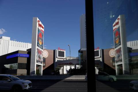 Tropicana hotel-casino in Las Vegas, Monday, July 27, 2020. (Erik Verduzco / Las Vegas Review-J ...