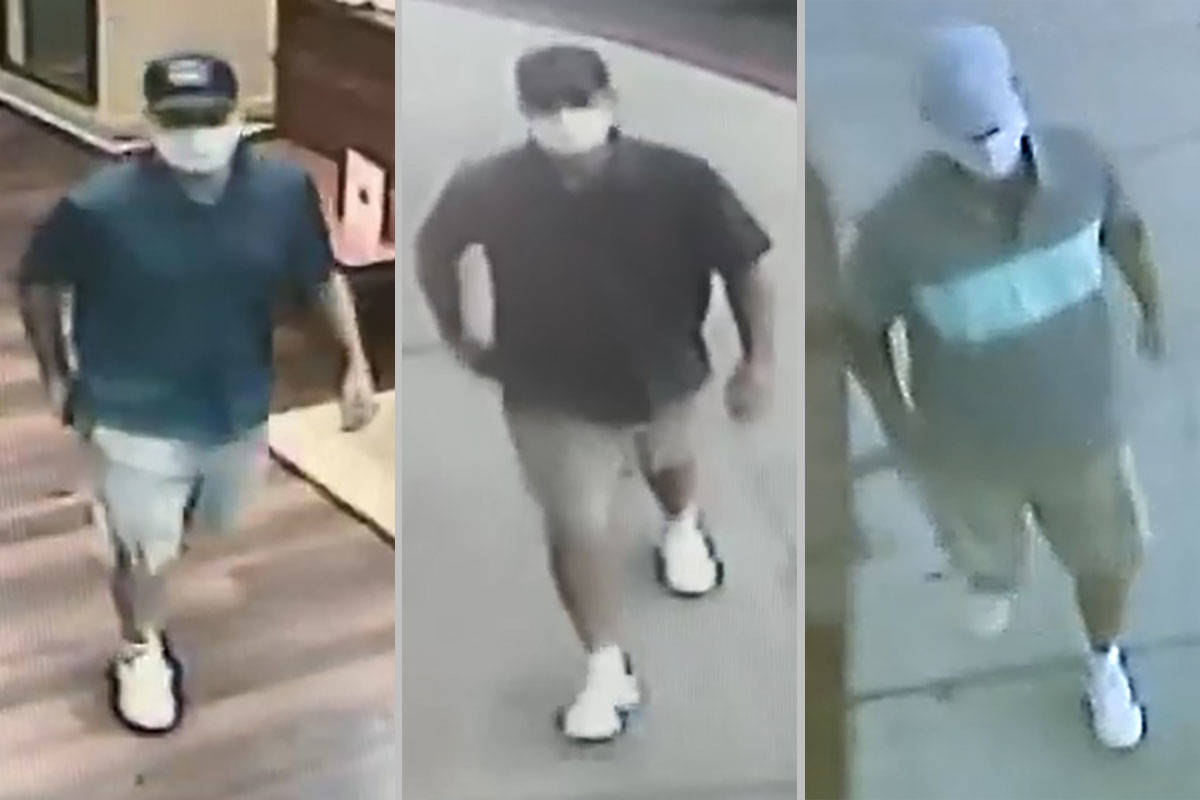 Las Vegas deputy city marshals are asking for the public's help in identifying a man suspecte ...
