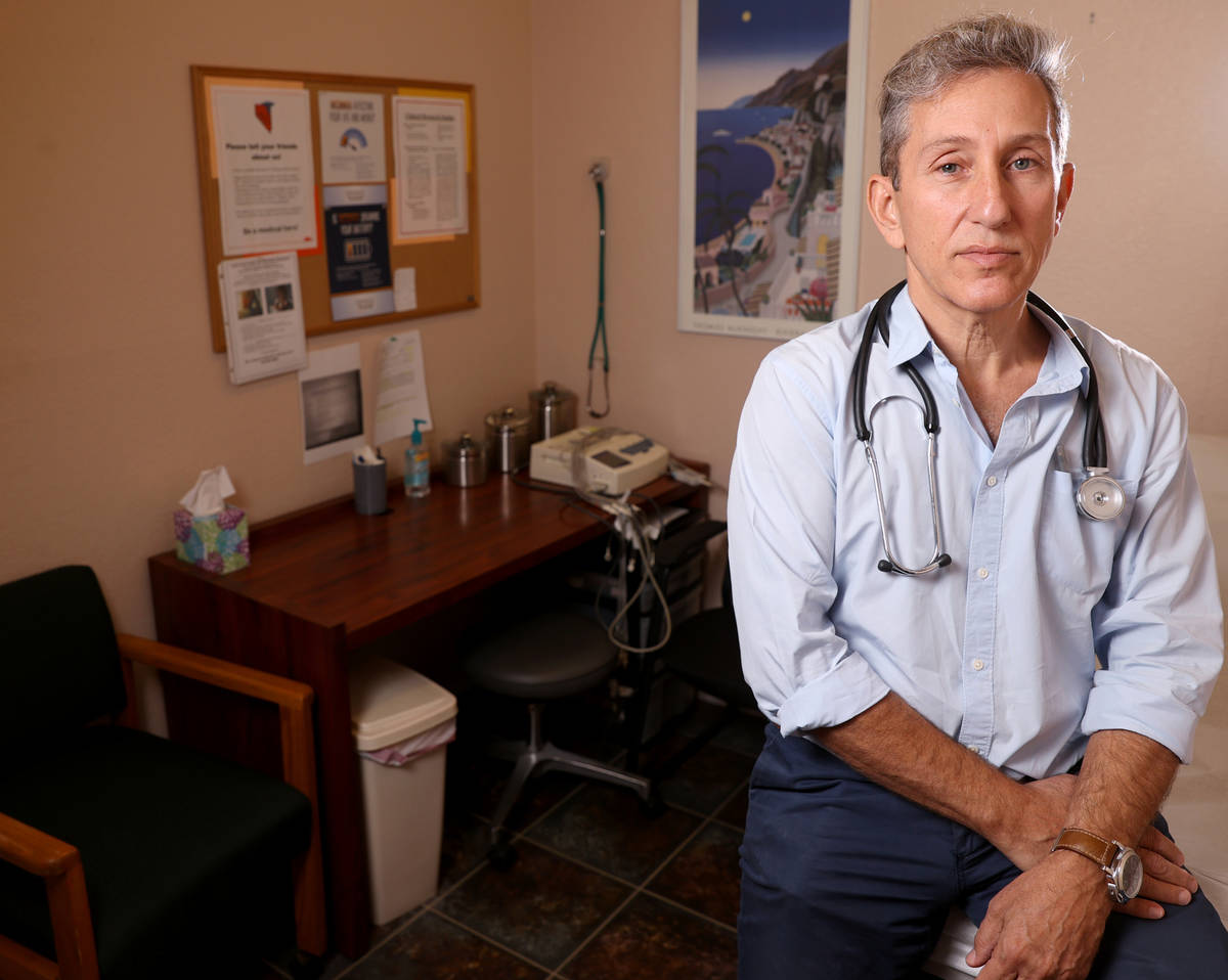 Dr. Michael Levin at Wake Research-Clinical Research Center of Nevada on East Sahara Avenue in ...