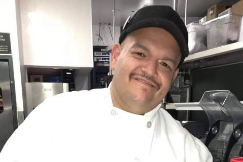 Alex Valencia was a longtime cook who worked at two restaurants on the Strip. (Alejandro Valencia)