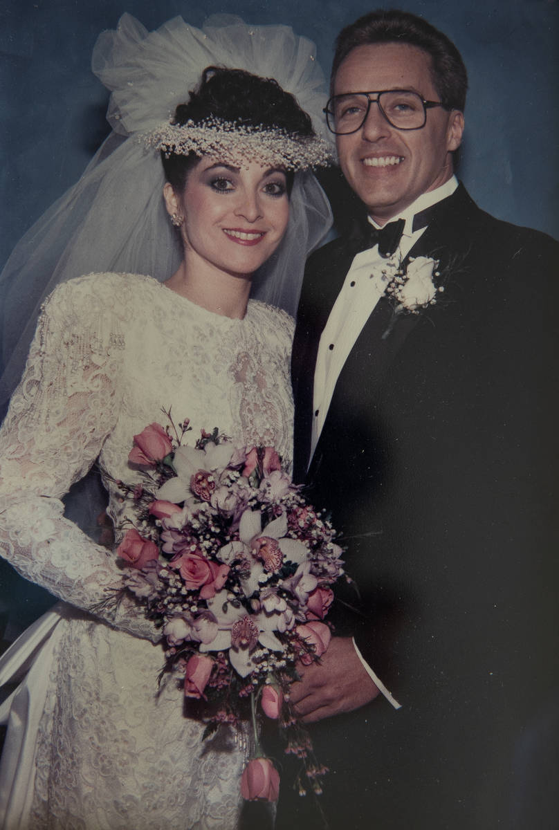 Barbara Macknin and husband, Michael, shown in their wedding photo. The Macknins hired attorney ...
