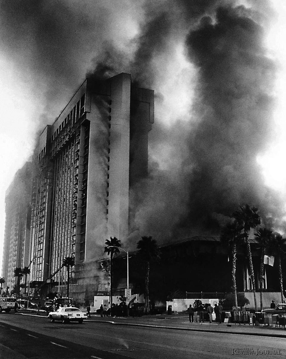 MGM Grand hotel fire killed 87 on the Strip 40 years ago