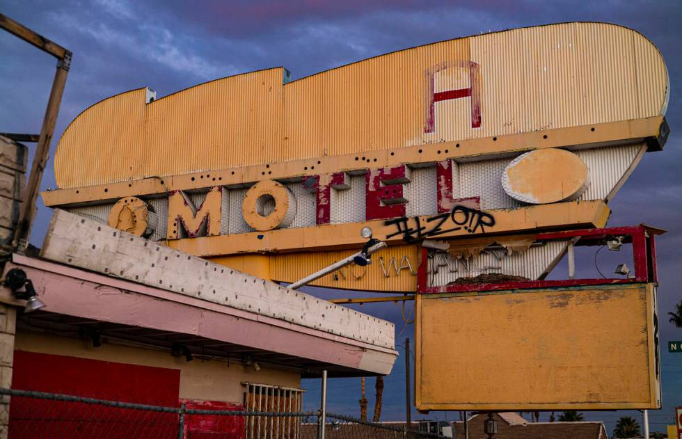 The project will restore motel signs, rebuild facades of various motels, include landscaping ad ...