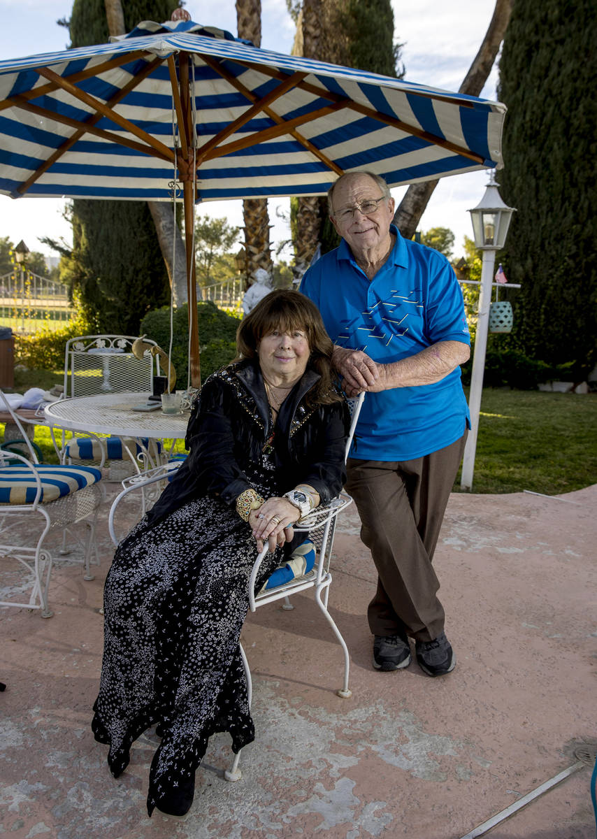 Richard and Sharon Weisbart have left their Las Vegas home largely unchanged since it was remod ...