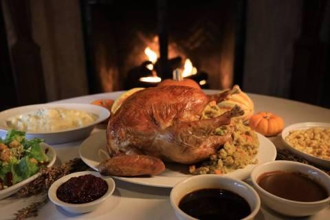 A turkey feast at Lawry's the Prime Rib. (Lawry's the Prime Rib)