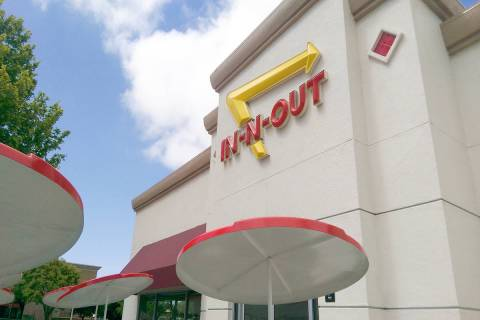 The exterior of an In-N-Out burger is shown. (Getty Images)