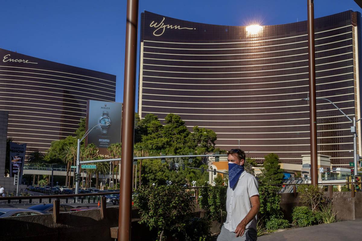 This Aug. 7, 2020, file photo shows Wynn Las Vegas. (L.E. Baskow/Las Vegas Review-Journal) @Lef ...