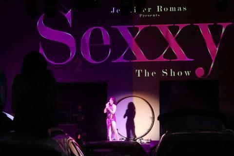 "Jennifer Romas in ÒSexxy The Show"" at Dreamland Drive-In at FreshWata Studios in Las ..."