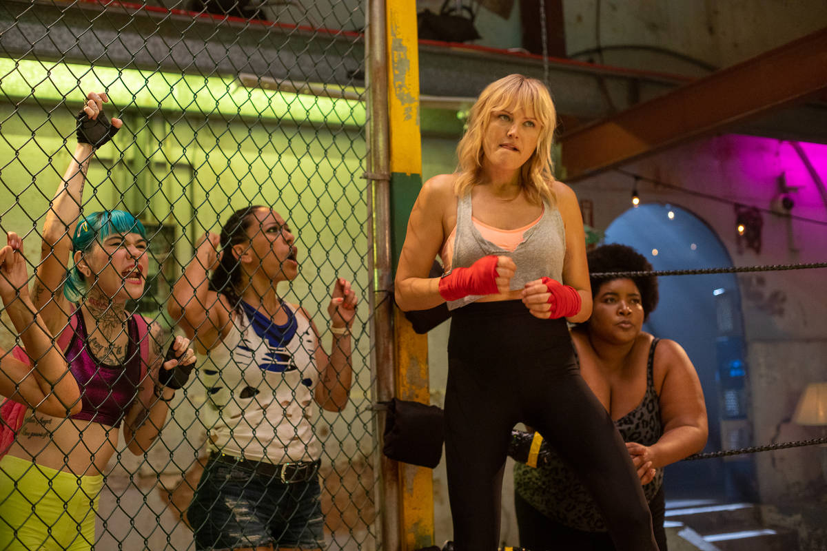 "Malin Akerman stars in ""Chick Fight."" (Laura Magruder)"