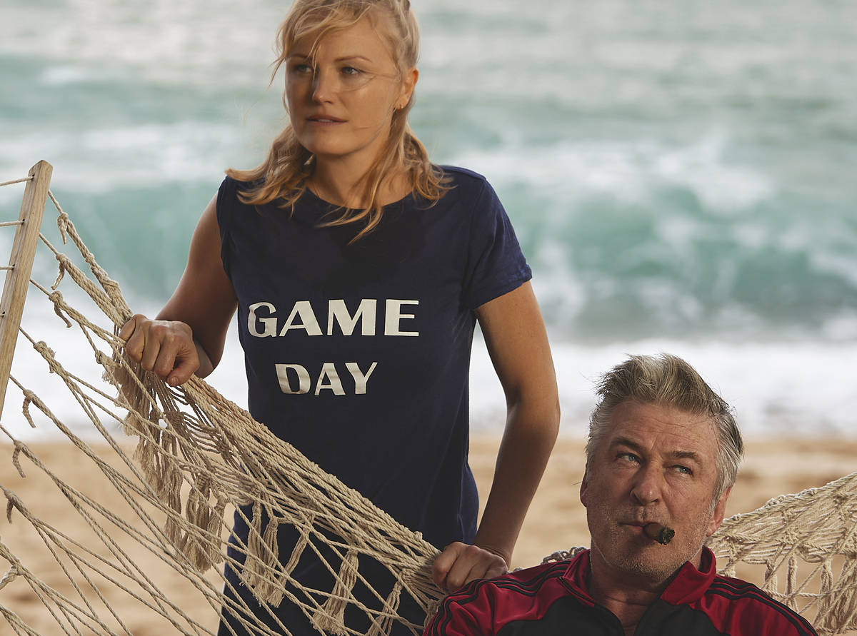"Malin Akerman and Alec Baldwin star in ""Chick Fight."" (Quiver Distribution)"