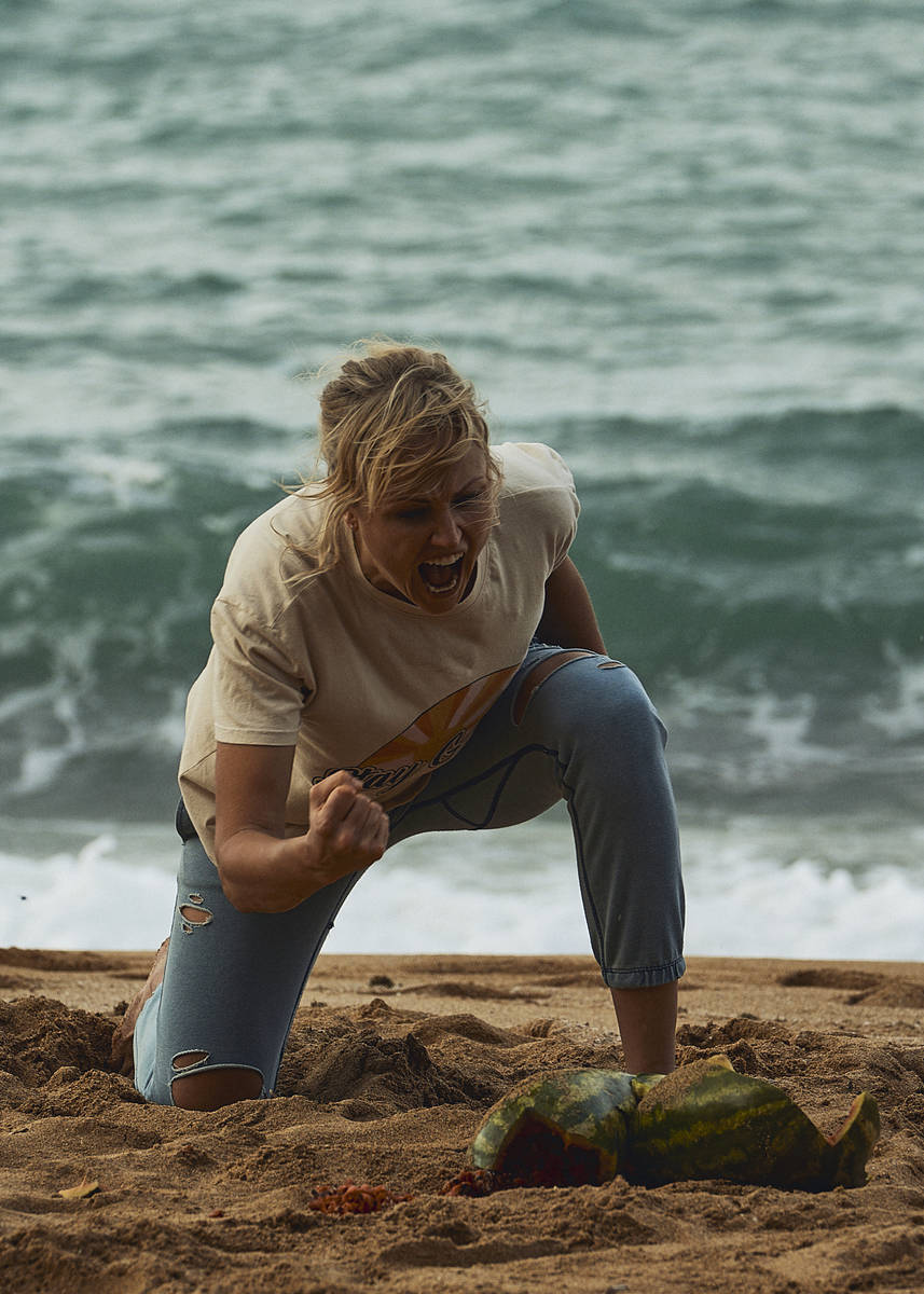 "Malin Akerman stars in ""Chick Fight."" (Quiver Distribution)"
